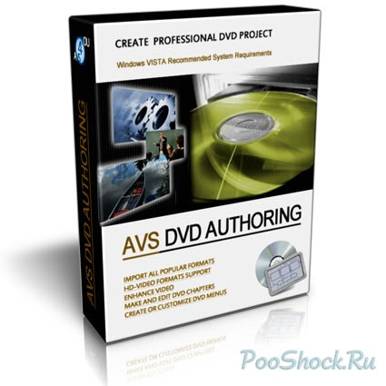 AVS DVD Authoring 1.3.4.56 RUSENG