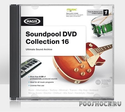 MAGIX Soundpool DVD Collection 16 (OGG)