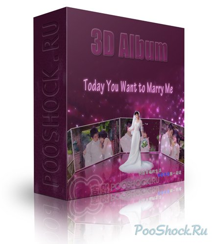 3D Album - Today You Want to Marry Me (Z9102)