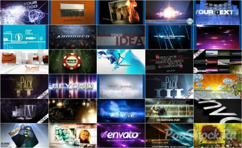 VideoHive Projects Pack - 009