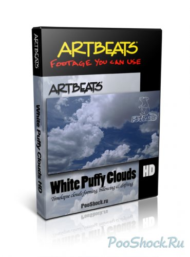 Artbeats - White Puffy Clouds HD