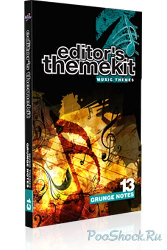 Digital Juice - Editor's Themekit 13: Grunge Notes