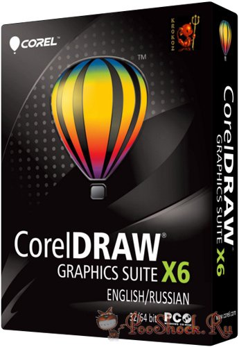 CorelDRAW Graphics Suite X6 (v.16.0) ENG-RUS