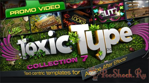 ToxicType Collection 7 (for After Effects)