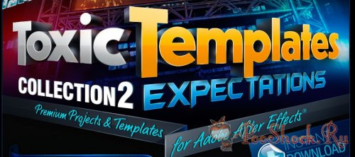 Digital Juice Toxic Templates Collection 2: Expectation