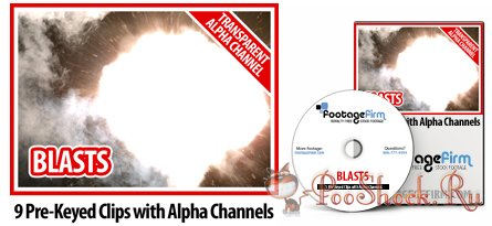 FootageFirm - Blasts Special Effects Clips with Alpha Channels