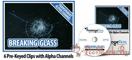 FootageFirm - Breaking Glass Special Effects Clips with Alpha Channels