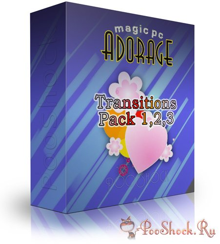 Adorage Transitions Pack 1,2,3 HD