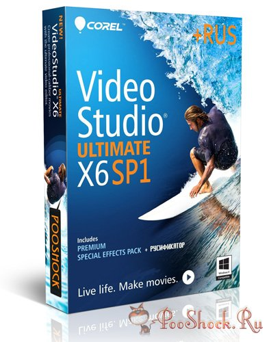 Corel VideoStudio Ultimate X6 Sp1 ML-RUS + Bonus
