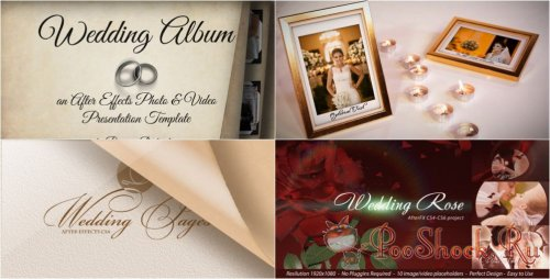 VideoHive - Wedding Projects Pack
