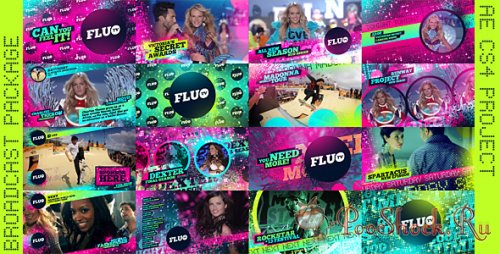 VideoHive - Fluo TV (AE Project)
