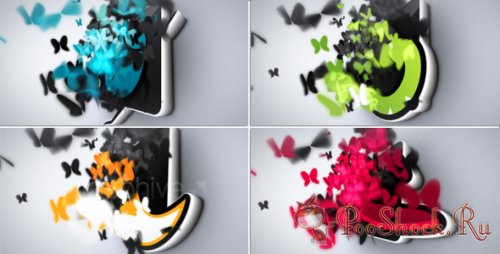 VideoHive - Butterflies Logo Reveal (AE Project)