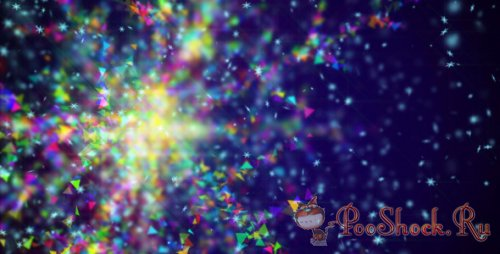 Videohive - Colorful Snowflake (MOV)