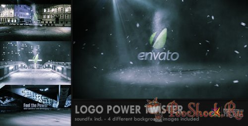 Videohive - Logo Power Twister (.aep)
