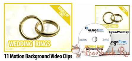 FootageFirm - Wedding Rings Motion Backgrounds Video Clips (Bundle of Love)