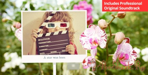 Videohive - Photo Gallery with Sunny Flowers (.aep)