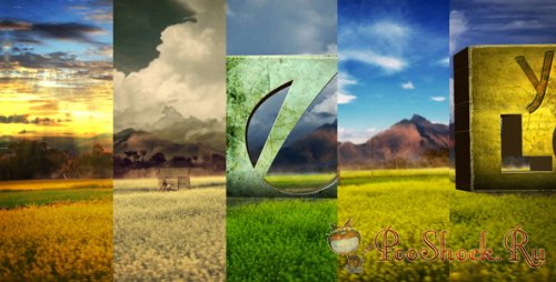 Videohive - Logo In Nature Bundle (.aep)