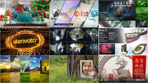 VideoHivePack-58 (After Effects Projects Pack)