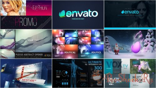 VideoHivePack - 127 (After Effects Projects Pack)