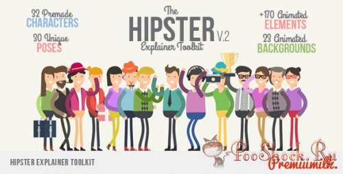 VideoHive - Hipster Explainer Toolkit (.aep)