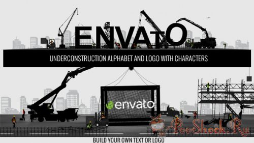VideoHive - Logo Constructor-Alphabet Builder With Characters (.aep)
