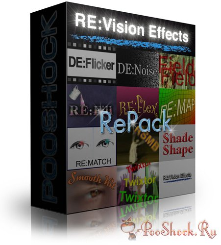 RE:Vision FX Plug-ins Pack 2015 for AE (UP1)
