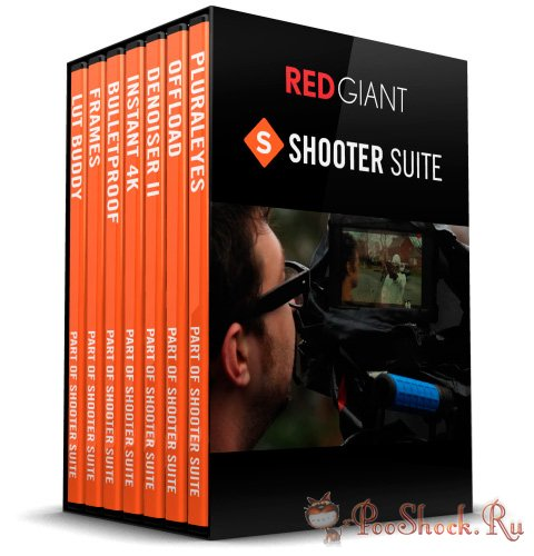 Red Giant Shooter Suite 12.6.4