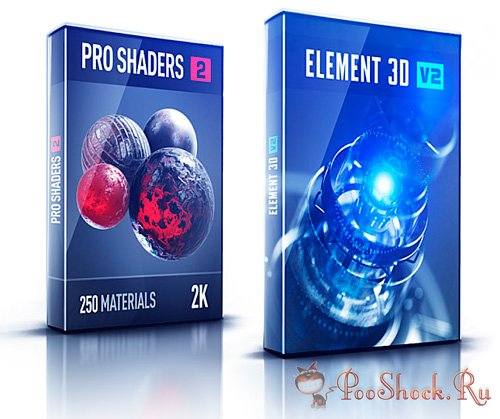 Video Copilot - Element 3D v2.0.7.2008 + Pro Shaders V2