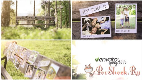 VideoHive - Bench Photo Gallery (.aep)
