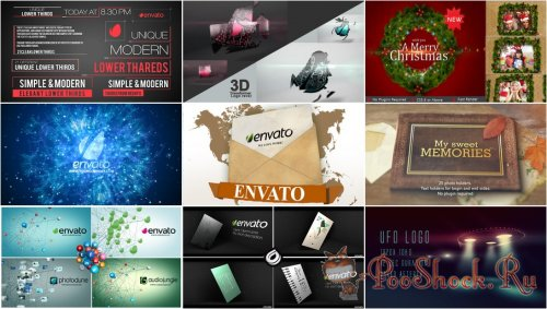 VideoHivePack - 208 (After Effects Projects Pack)