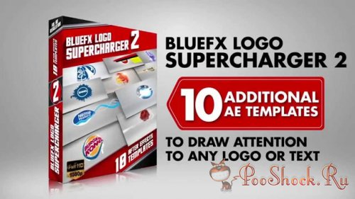 BlueFX - The Logo Supercharger Pack 2 (.aep)
