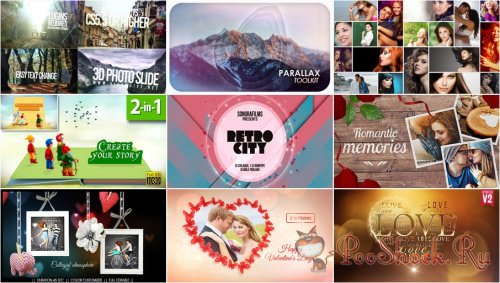VideoHivePack - 224 (After Effects Projects Pack)