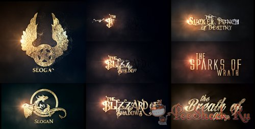 VideoHive - Burn To Be Gold