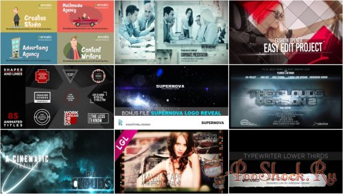 VideoHivePack - 246 (After Effects Projects Pack)