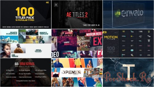 VideoHivePack - 273 (After Effects Projects Pack)