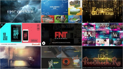 VideoHivePack - 275 (After Effects Projects Pack)