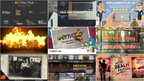 VideoHivePack - 318 (After Effects Projects Pack)