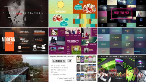 VideoHivePack - 337 (After Effects Projects Pack)