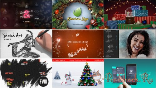 VideoHivePack - 353 (After Effects Projects Pack)