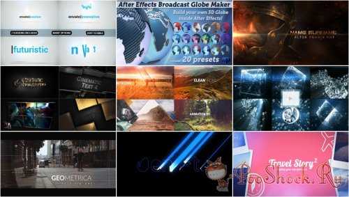 VideoHivePack - 412 (After Effects Projects Pack)