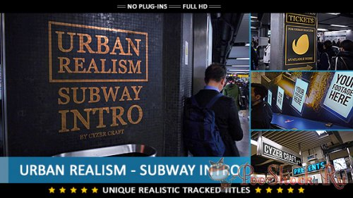 VideoHive - Urban Realism - Subway Intro (AE-Project)