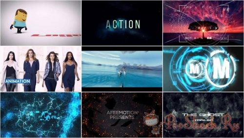 After Effects Projects Pack - 45 (Motion Array)