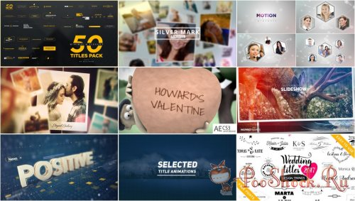 VideoHivePack - 461 (After Effects Projects Pack)