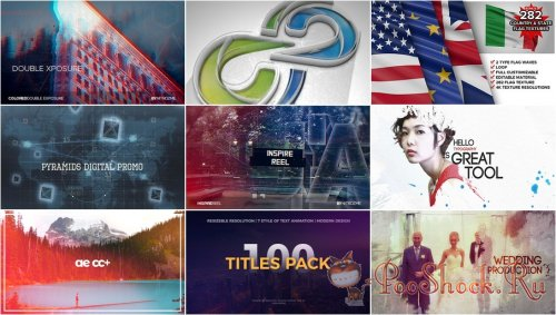 VideoHivePack - 472 (After Effects Projects Pack)