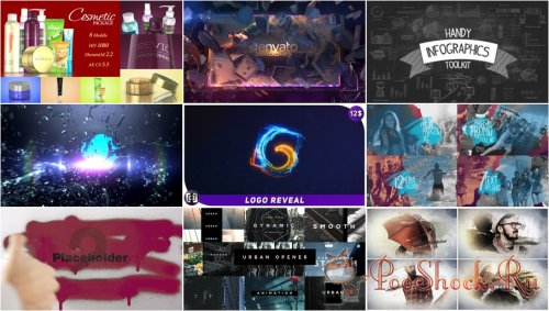 VideoHivePack - 494 (After Effects Projects Pack)