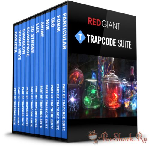 Red Giant - Trapcode Suite 14.1.0 RePack