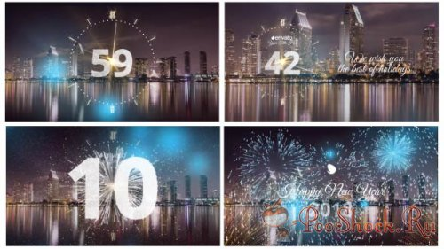 VideoHive - Silver New Year Countdown 2018 (AEP)