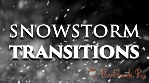 VideoHive - Snowstorm Transitions (MOV, MP4)