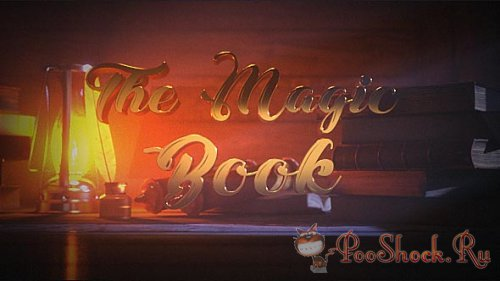 VideoHive - The Magic Book (AEP)