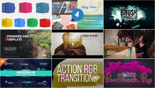 Premiere Pro Projects Pack - 24 (Motion Array)